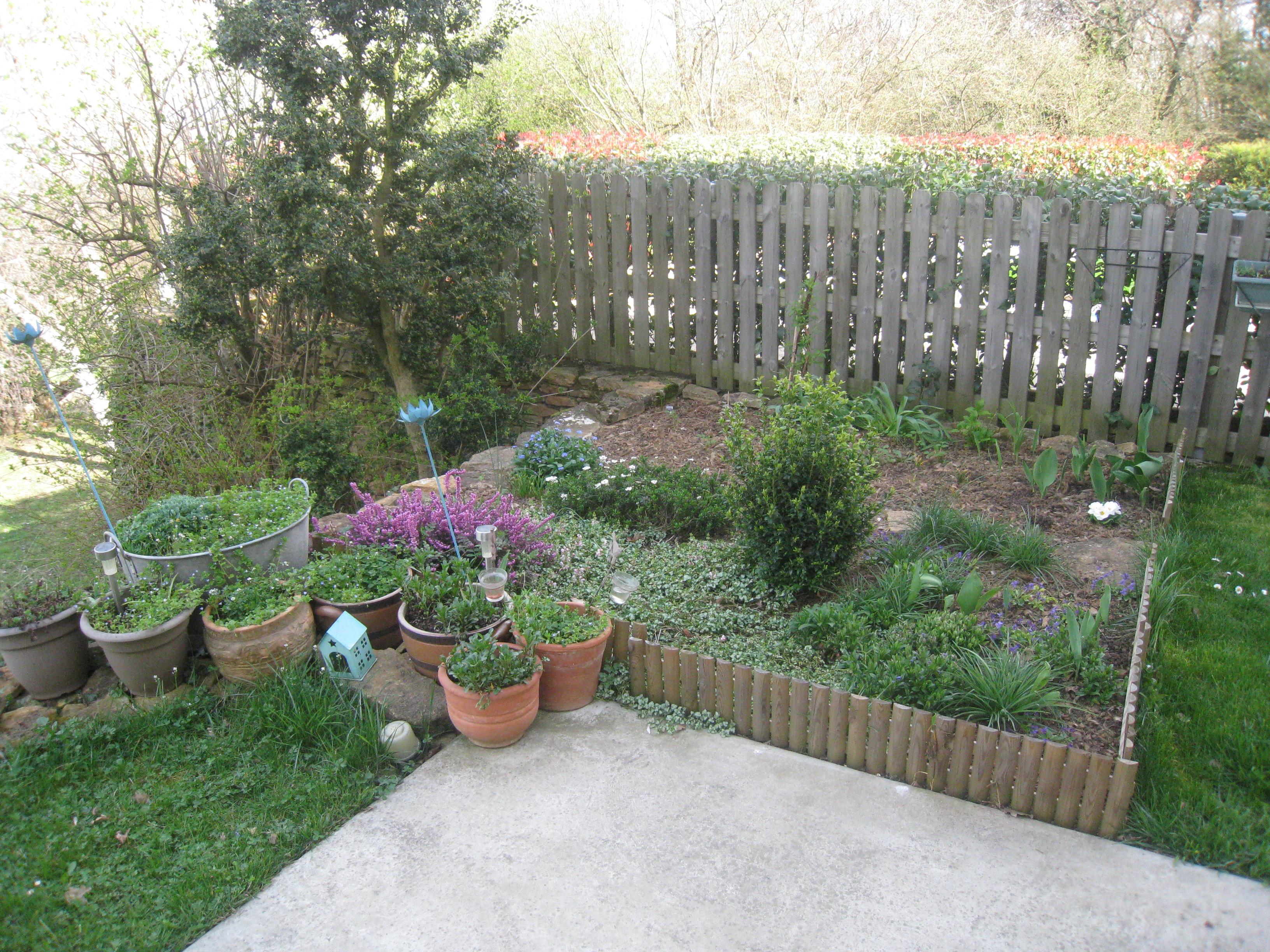 Mon jardin photos d 39 aujourdh 39 ui marie maguelone - Terrasse surplombant mon jardin metz ...