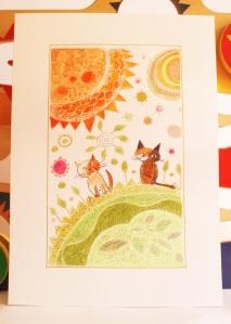 n20 deux chats et soleil orange1 (1)